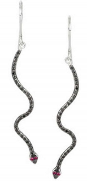 Ileana Makri snake earrings