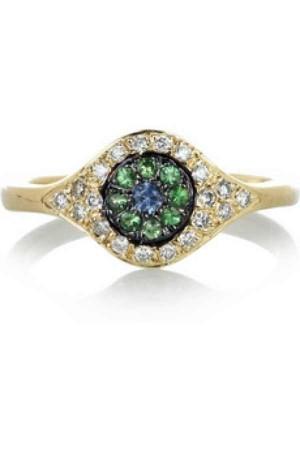 Ileana Makri evil eye ring