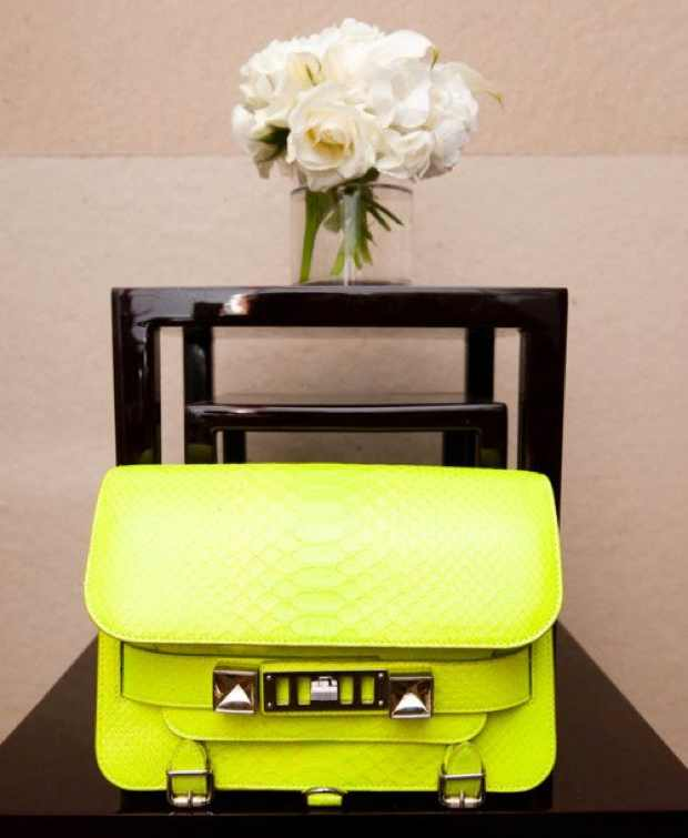 Proenza Schouler Yellow trendy classic handbags of all time
