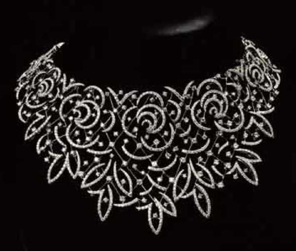 Stefan Hafner diamond necklace