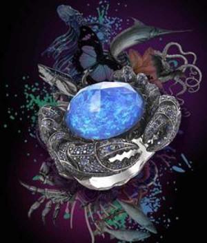 Stephen Webster eccentric crab ring