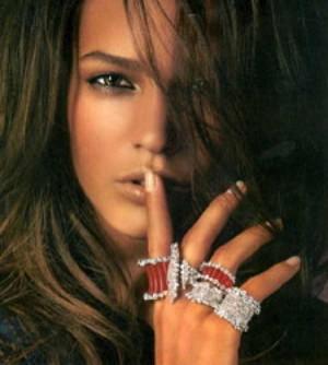 Stefan Hafner rings, ruby diamonds