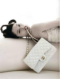 Chanel White trendy classic handbags of all time