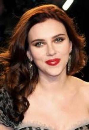 Scarlett Johansson evening make up