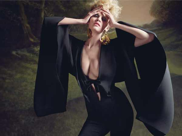 Tom Ford black cat suit