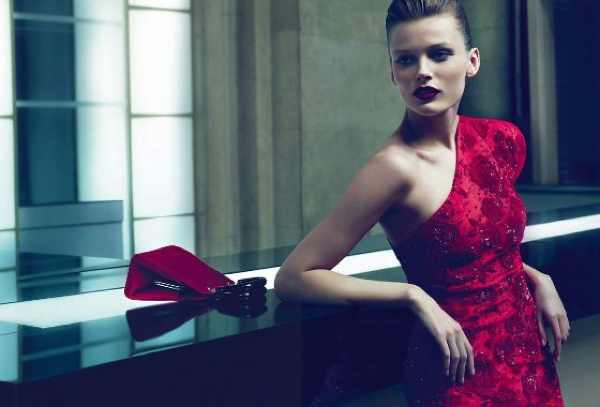 Giorgio Armani Red dress