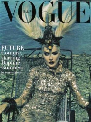 Daphne Guinness Vogue cover