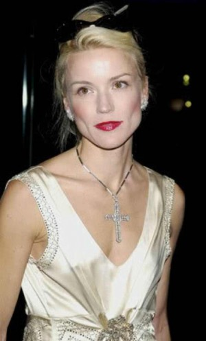Daphne Guinness white dress