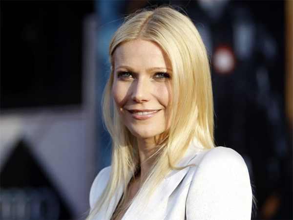 Gwyneth Paltrow white jacket