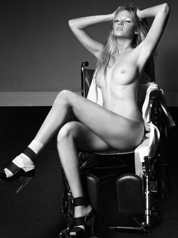 Lara Stone naked by Greg Lotus