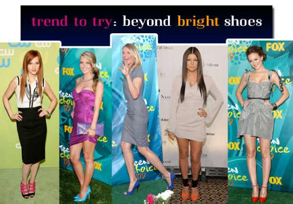 Celebrities in Bright shoes
