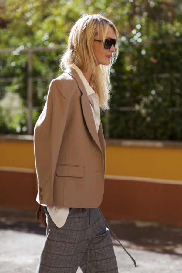 Street Fashion Camel Jacket