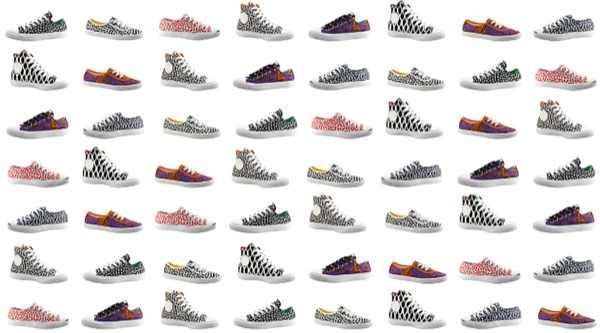 Marimekko prints sneakers converse