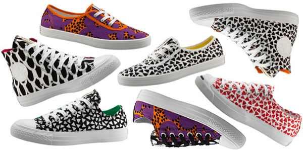 marimekko prints 1970's sneakers converse