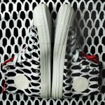 Marimekko Converse sneaker black and white