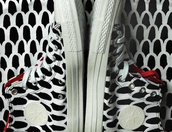 Marimekko Converse sneaker black and white