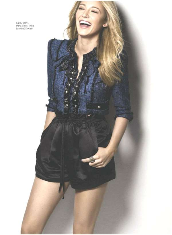 Blake Lively for Glamour Mexico 2013