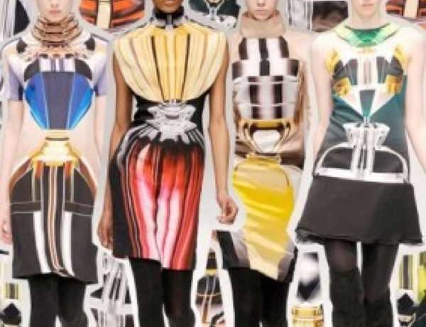 Mary Katrantzou collection bold colors