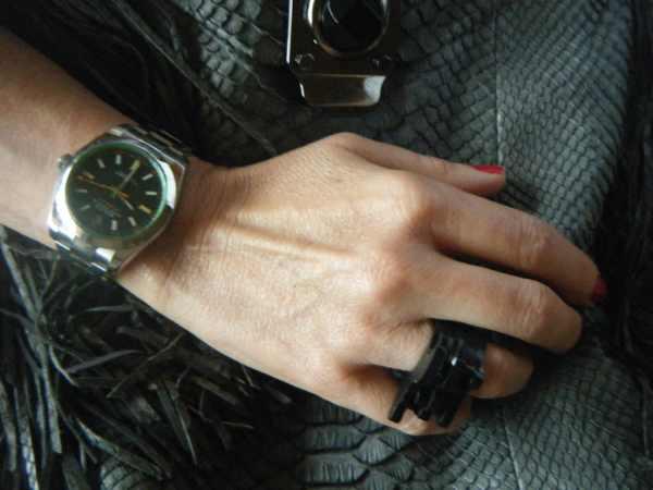 Rolex Milgauss, Celine Exotic bag