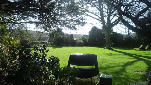 The Whitehouse Hotel, Garden, Devon