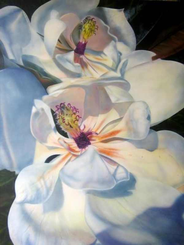 white-flowers Georgia O'Keefe
