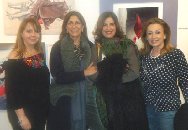 Daphne Valente, Maria Xanthakou, Kalli Alevizou and Ninetta Vafia