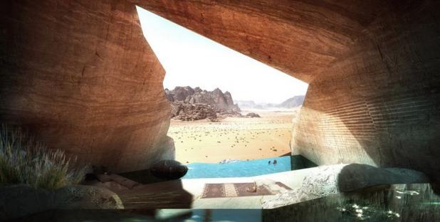 Desert Lodge at Wadi Rum