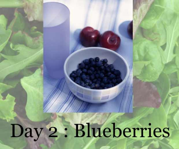 Blueberries bowl