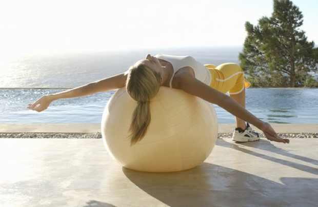 Exercise swiss ball