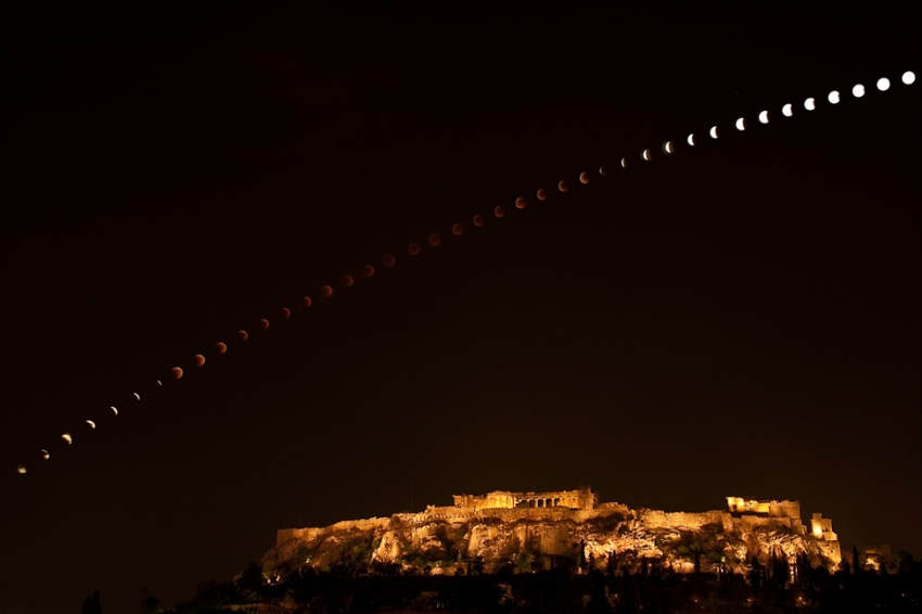 Acropolis photographed by Elias Politis