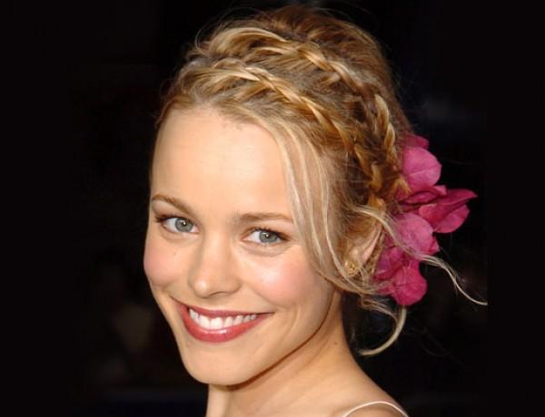 Rachel Adams double french braids