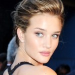 Rosie Huntington-Whiteley's slicked back updo