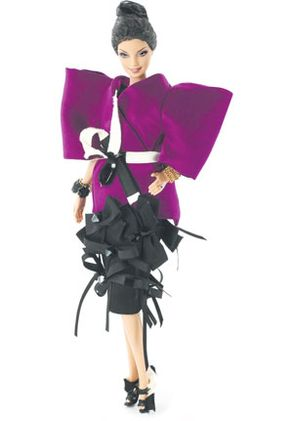 Designer Roksanda Illincic created a collector's Barbie!!!