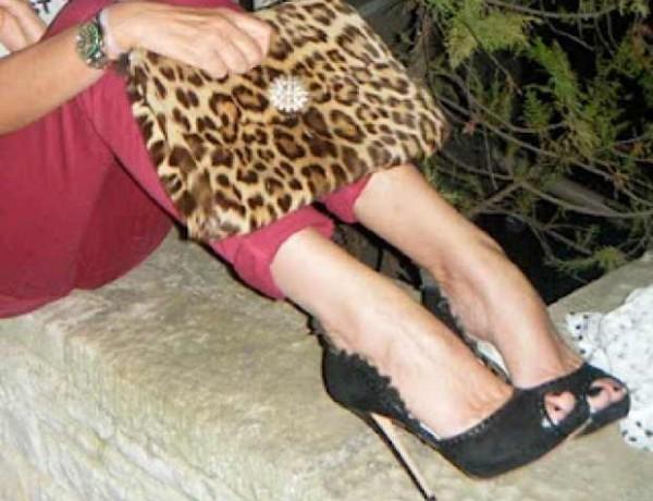Bordeaux Jeans from TALLY WEiJL, Alexander McQueen Shoes from Harvey Nichols
