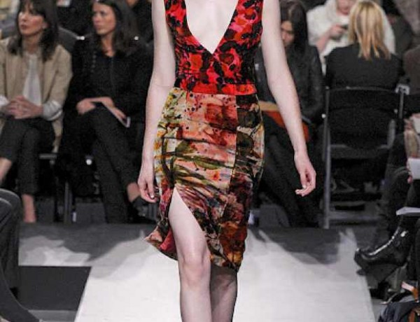 ERDEM-FALL-2011-RTW-Side slit skirt