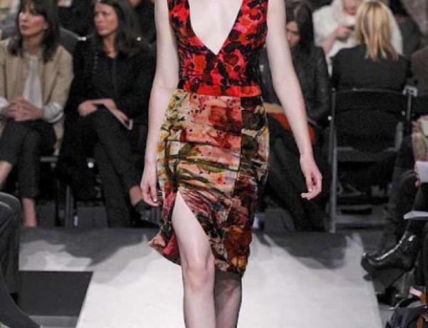 ERDEM-FALL-2011-RTW-Side slit skirt