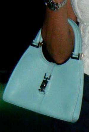 Gucci handbag turquoise
