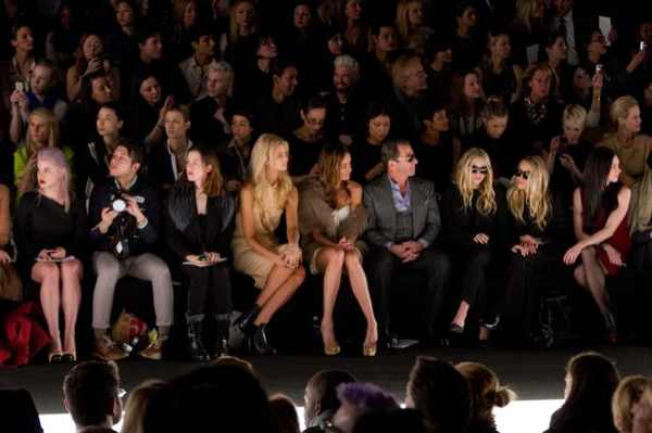 first row fashion week