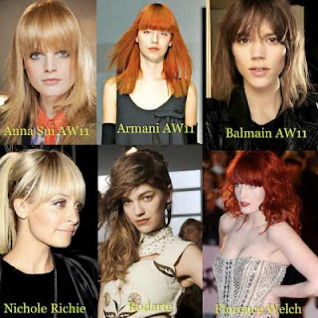 Celebrity Fringes , How to cut your own fringes
