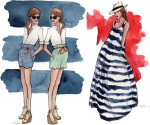 Inslee Haynes fashion illustration