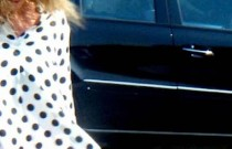 My Lookbook : How I wore Giant Zara Polka Dots for Lunch