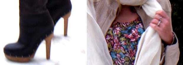 Marni Boots Pashmina foulard