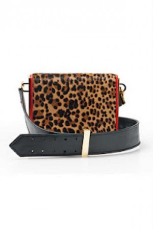 Christian Louboutin animal print handbag