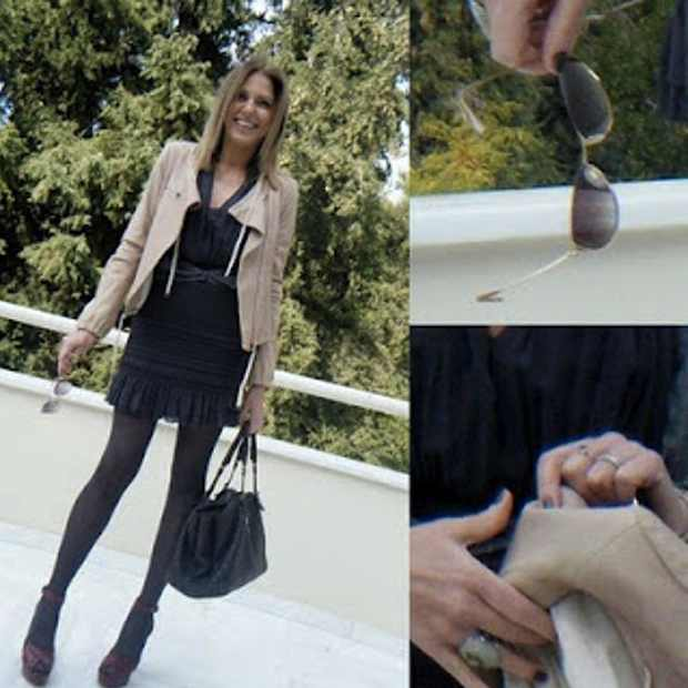 Isabel Marant dress DVF jacket