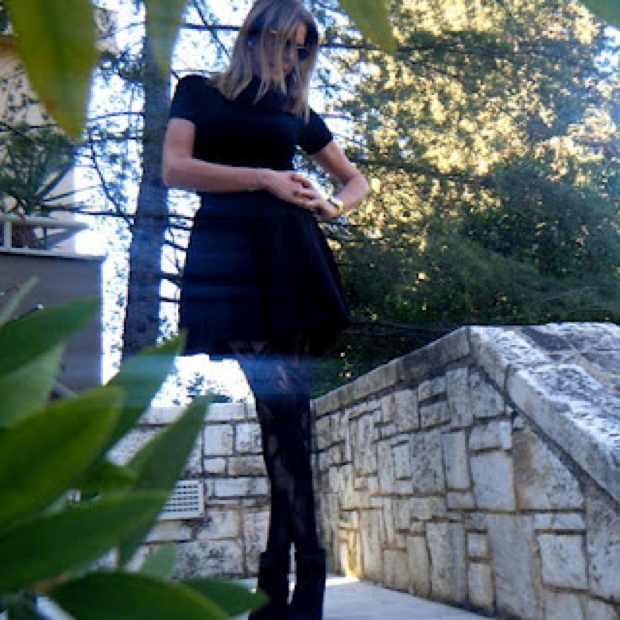 Miu Miu Skirt and lace Alexander McQueen leggings