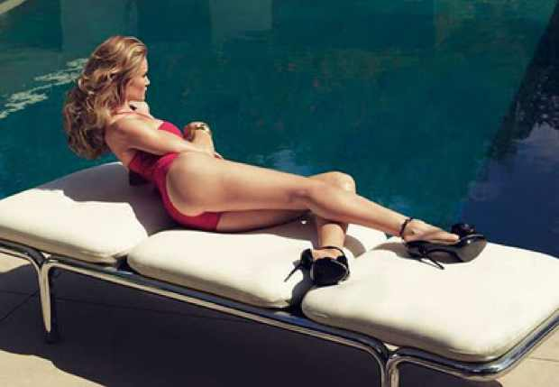 Magenta Swimsuit