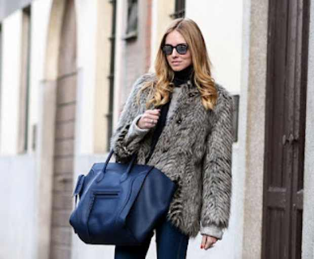 Chiara Ferragni wearing Ricky Raccoon Marc by Marc Jacobs