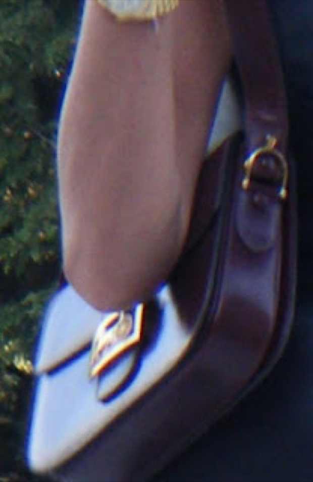 Celine Vintage Burgundy Handbag