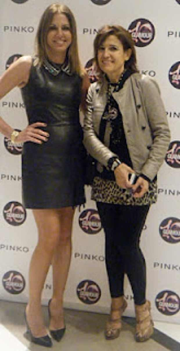 Me with Paulina Sarri editor-in-chief of Glamour