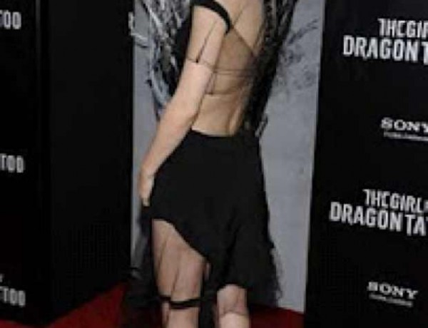 Rooney Mara The Little Black dress Celebrity